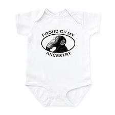 Proud of my Ancestry Chimp Onesie