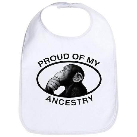 Proud of my Ancestry Chimp Bib