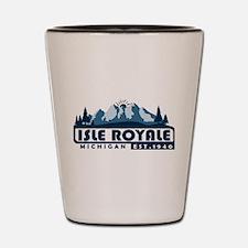 Isle Royale - Michigan Shot Glass