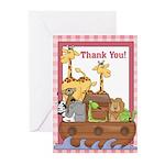 Noah's Ark Thank You Notes (Pk of 20)