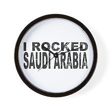 I Rocked Saudi Arabia Wall Clock