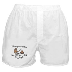 Professional Marshmallow Roaster Boxer Shorts