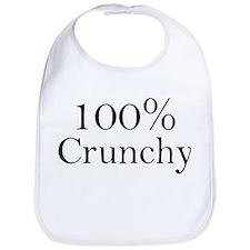 100% Crunchy Bib