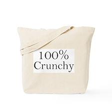 100% Crunchy Tote Bag