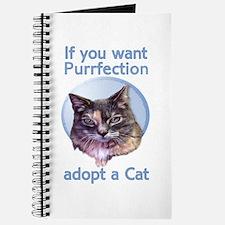 adopt Purrfection Journal