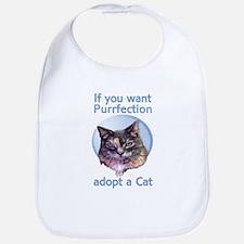 adopt Purrfection Bib