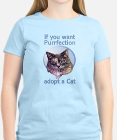 adopt Purrfection T-Shirt
