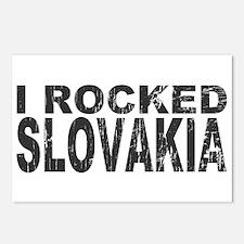 I Rocked Slovakia Postcards (Package of 8)