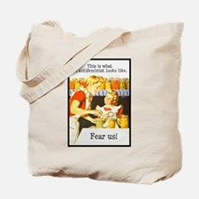This is what an antifeminist Tote Bag