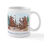 Toasting Bears Mug