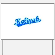 Retro Kaliyah (Blue) Yard Sign