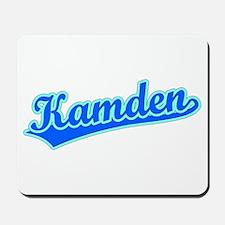 Retro Kamden (Blue) Mousepad