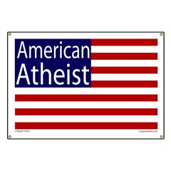 American Atheist Flag Banner