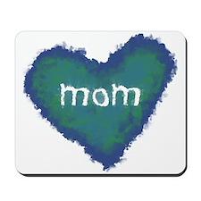 Pastel Mom Heart Mousepad