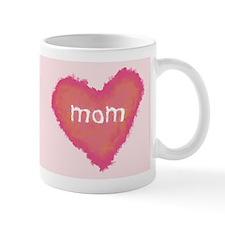 Pastel Mom Heart Mug
