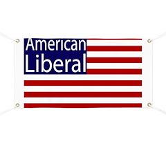 American Liberal Flag Banner