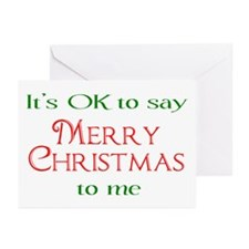Cute Conservative christmas Greeting Cards (Pk of 20)