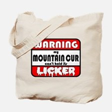 Mountain Cur LICKER Tote Bag
