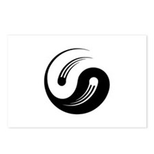 Yin Yang Motion Postcards (Package of 8)