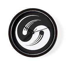 Yin Yang Motion Wall Clock