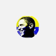 Rock Star Obama 08 Mini Button
