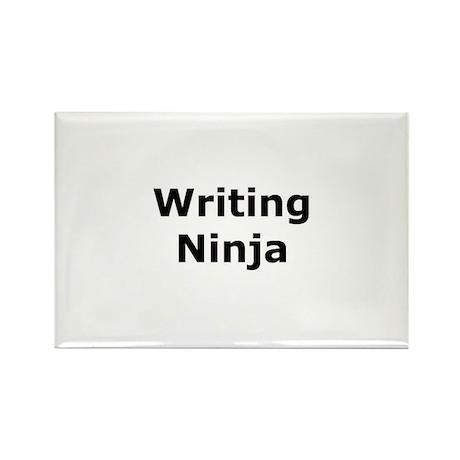 Writing Ninja Rectangle Magnet (100 pack)