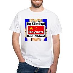 Stop Killing Dogs Boycott Red Shirt