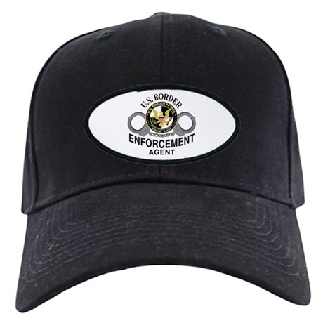 Border Patrol Agent Black Cap