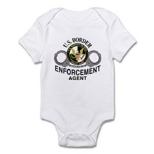 Border Patrol Agent Infant Bodysuit