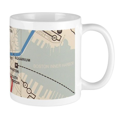 Old Subway Map Mug
