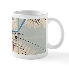 Old Subway Map Small Mug