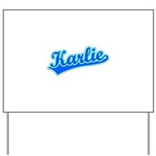 Retro Karlie (Blue) Yard Sign
