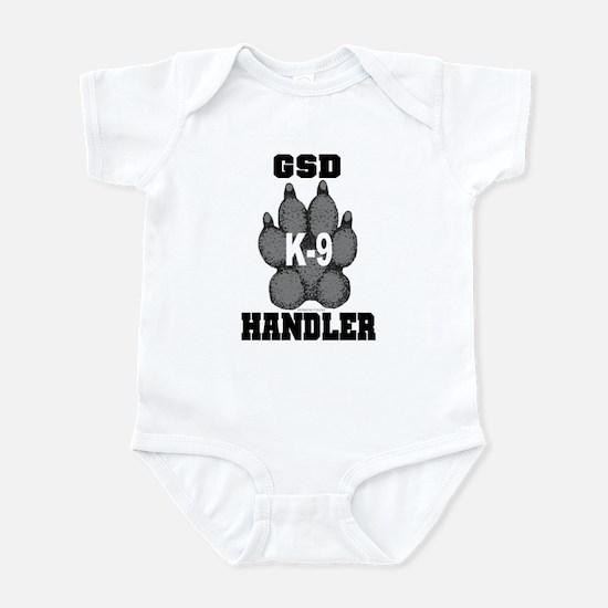 GSD K9 Handler Infant Creeper