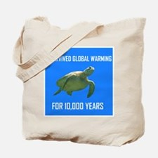 NOT REALLY WARMING Tote Bag