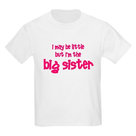Little Big Sister Kids Light T-Shirt