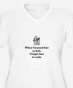 Learned to Knit - Forgot How T-Shirt