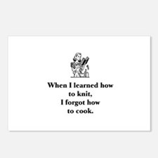 Learned to Knit - Forgot How Postcards (Package of