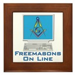 Wired Masons Framed Tile