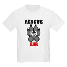 Rescue K9 SAR Kids T-Shirt