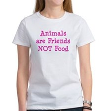 Animals are Friends Not Food Tee