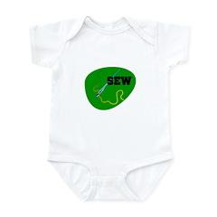 Sew - Needle and Thread Infant Bodysuit