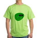 Sew - Needle and Thread Green T-Shirt