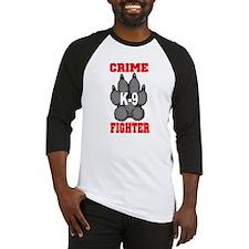 Crime K9 Fighter Baseball Jersey