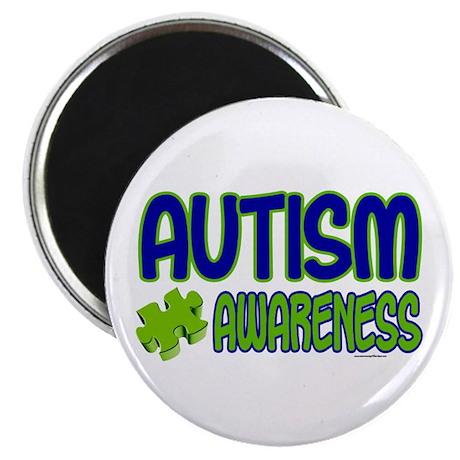 "Autism Awareness 1.1 2.25"" Magnet (100 pack)"
