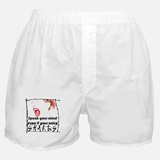Speak Your Mind Boxer Shorts