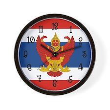 Thailand Flag Wall Clock
