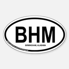 Birmingham Oval Decal