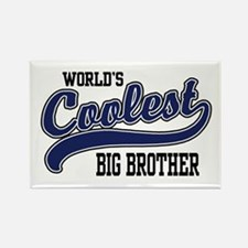 World's Coolest Big Brother Rectangle Magnet