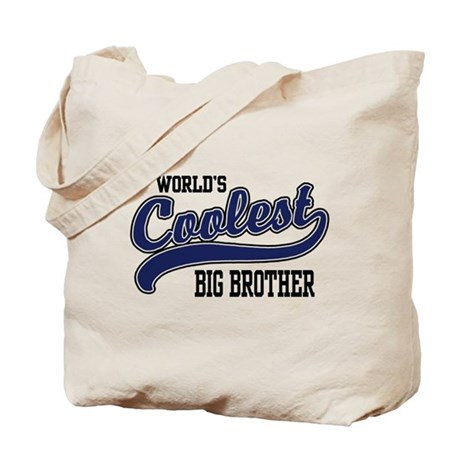 World's Coolest Big Brother Tote Bag