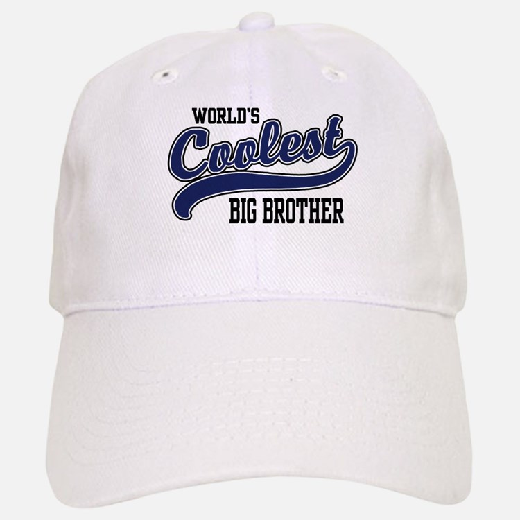 World's Coolest Big Brother Baseball Baseball Cap